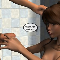 Best 3d incest featuring girl play with dad`s dick.